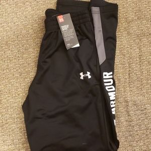 Under Armour Pants Youth Large Loose Fit